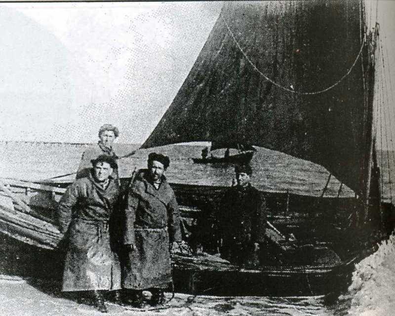 рыбаки в годы войны