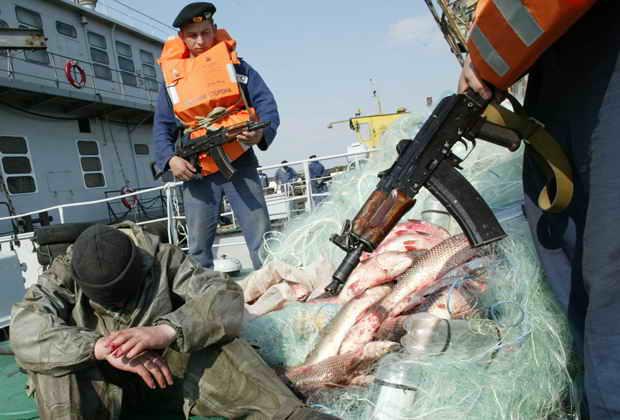 об осмотре рыбаков