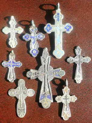 ежедневных крестик лепесток с керамикой старинный цена медь расположен